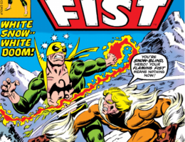cover of iron fist 14