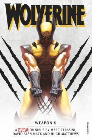 cover of wolverine weapon x omnibus